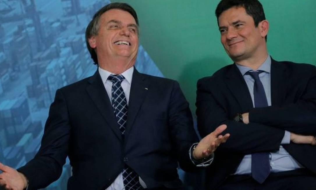 Para cientistas políticos, aliança entre presidente e ministro ainda é favorável para ambos, apesar das tensões Foto: ADRIANO MACHADO/REUTERS