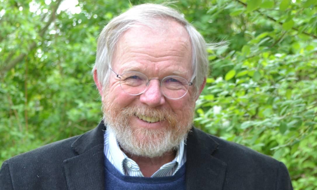 O escritor Bill Bryson em 2019 Foto: Divulgação