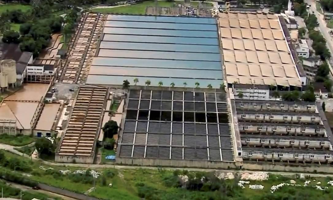 Mananciais que abastecem Estação de Tratamento de Água do Guandu, em Seropédica Foto: Agência O Globo