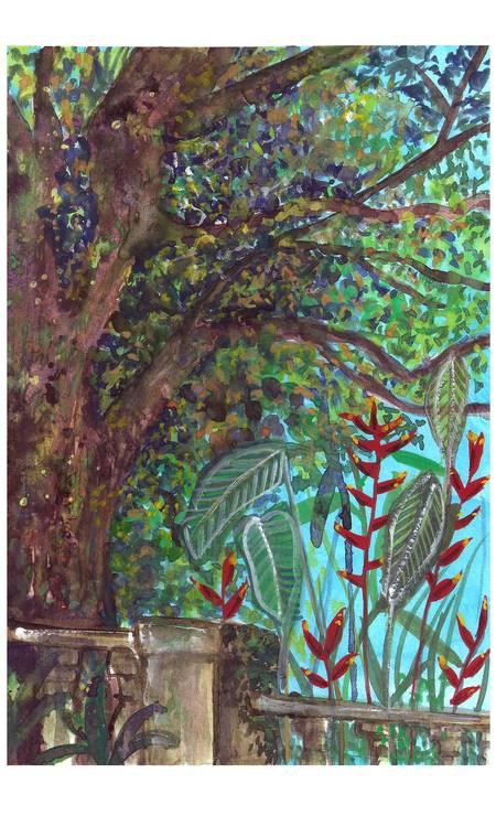 Guache de Maria Quintela Foto: marcia quintela