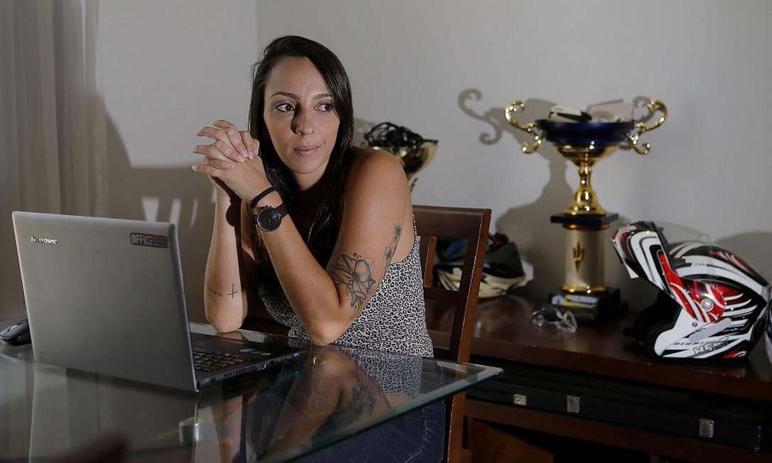 Mariana Freitas, arquiteta, trabalha como MEI desde 2014. Foto: Jorge William / Agência O Globo