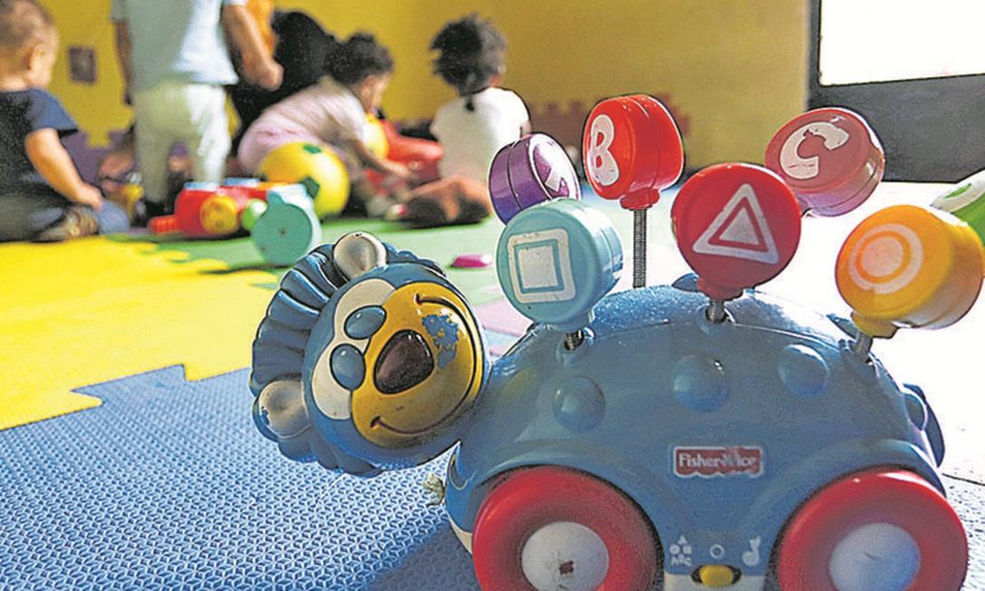 Governo estuda dar voucher para ampliar o acesso a creches. Foto: Fabiano Rocha / Agência O Globo