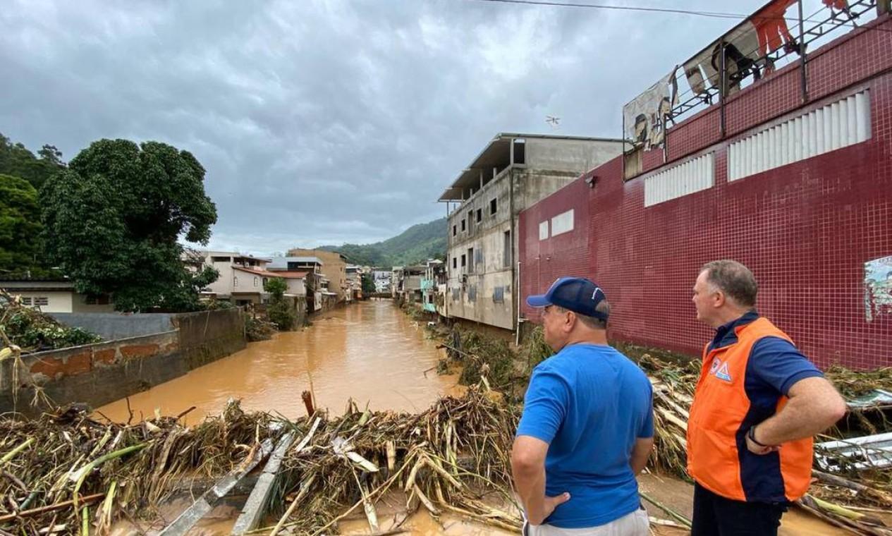 Os municípios de Iconha, Alfredo Chaves, Vargem Alta e Rio Novo do Sul decretaram estado de calamidade pública Foto: Divulgação / Governo do Estado do ES
