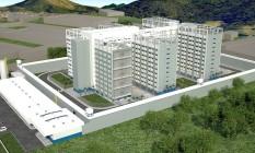 Projeto do Conjunto Penal Vertical da Secretaria de Administração Penitenciária do Estado Foto: Divulgação