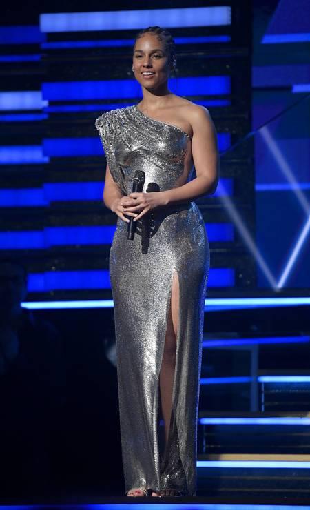 Alicia Keys, de Atelier Versace Foto: Kevork Djansezian / Getty Images