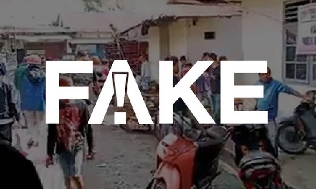 É #FAKE que vídeo que mostra cobras, ratos e cães prontos para consumo humano foi gravado na China Foto: Reprodução