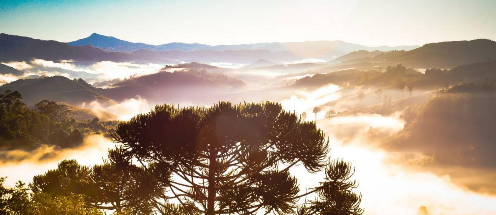 Serra da Mantiqueira, em Monte Verde Foto: Ricardo cozzo / Creative Commons