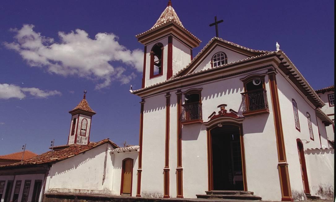Igreja do Carmo em Diamantina Foto: André Teixeira-29/04/2002 / Agência O Globo