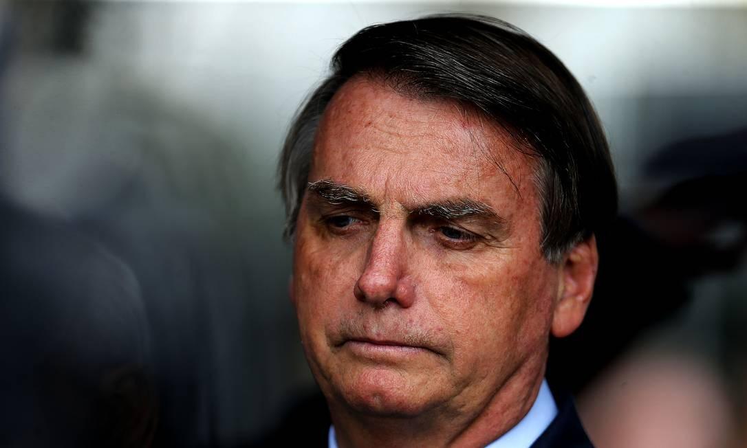 O presidente Jair Bolsonaro 28/01/2020 Foto: Jorge William / Agência O Globo