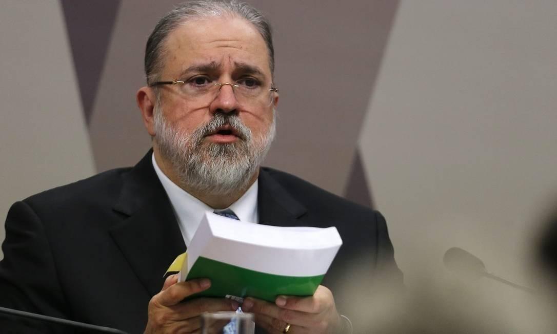Augusto Aras, procurador-geral da República, nomeou Renato Brill de Góes para o posto de vice-procurador-geral Eleitoral Foto: Jorge William/Agência O Globo