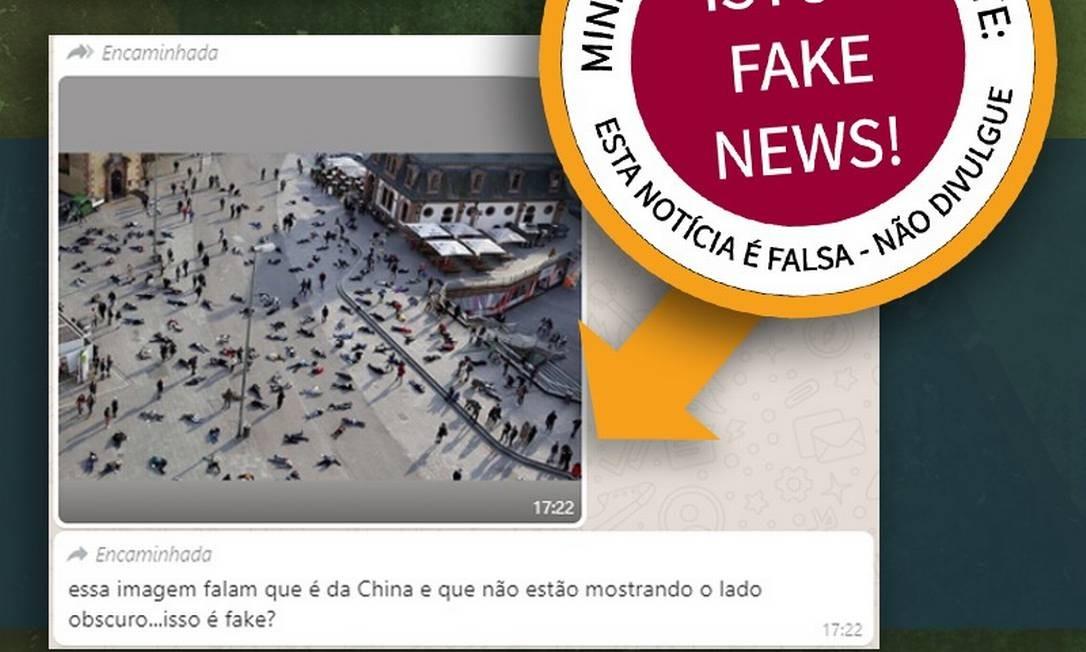 Corona Fake News Whatsapp