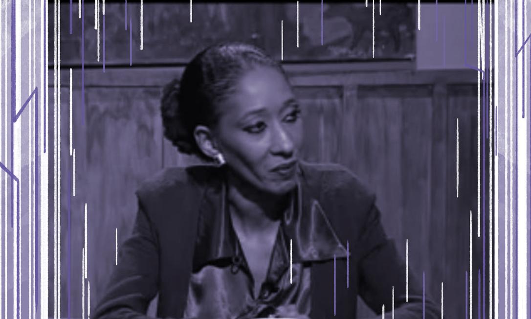 Embaixadora de carreira Maria Fernanda Silva durante entrevista Foto: Reprodução de vídeo