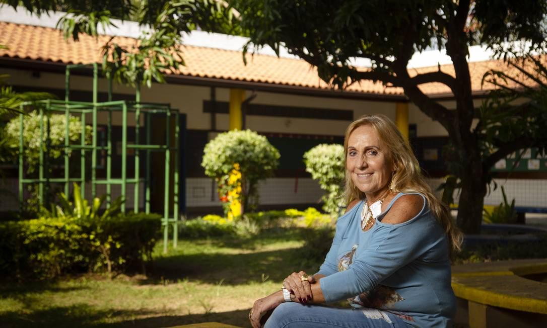 Sara de Carvalho Castro completou, em 2019, 50 anos na rede municipal do Rio Foto: Leo Martins / Agência O Globo