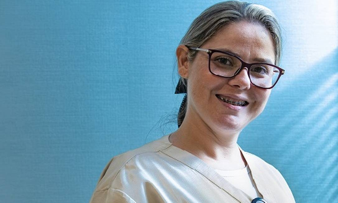 A atendente de enfermagem Marília Cristina Silva Afonso Foto: Ana Branco / Agência O Globo