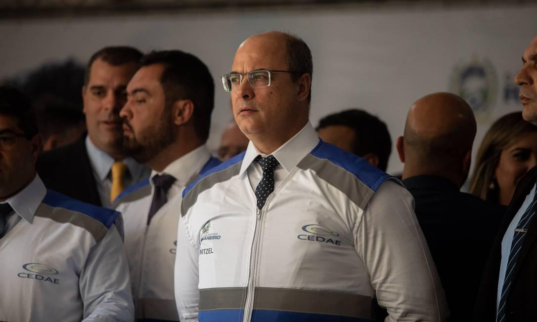 Witzel: 'Não sou químico' Foto: Brenno Carvalho / Agência O Globo