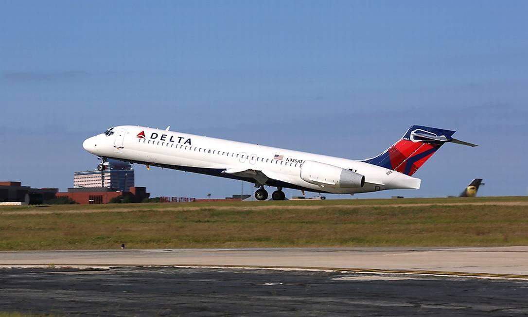 Aeronave da Delta Air Lines Foto: Divulgação