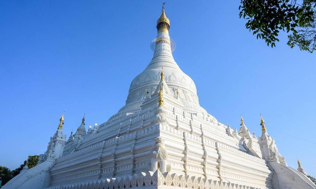 Amapura é outra cidade nos arredores de Mandalay. Seu principal atrativo é o pagode Pahtodawgyi Foto: Mladen Antonov / AFP