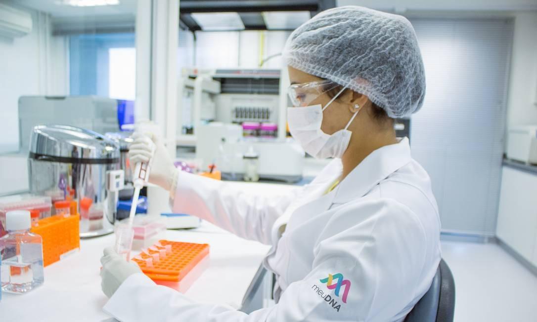 Laboratório do MeuDNA: testes são cada vez mais rápidos, baratos e com mais informações Foto: Divulgação