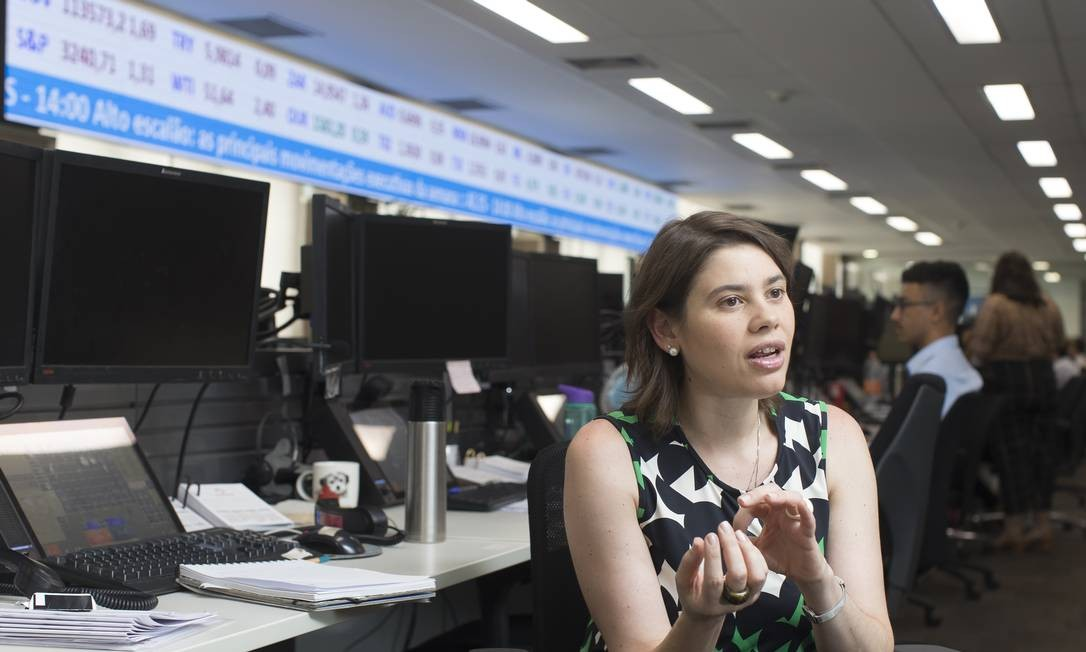 Economista especializada em China , Fabiana D'atri, do Bradesco Foto: Edilson Dantas / Agência O Globo