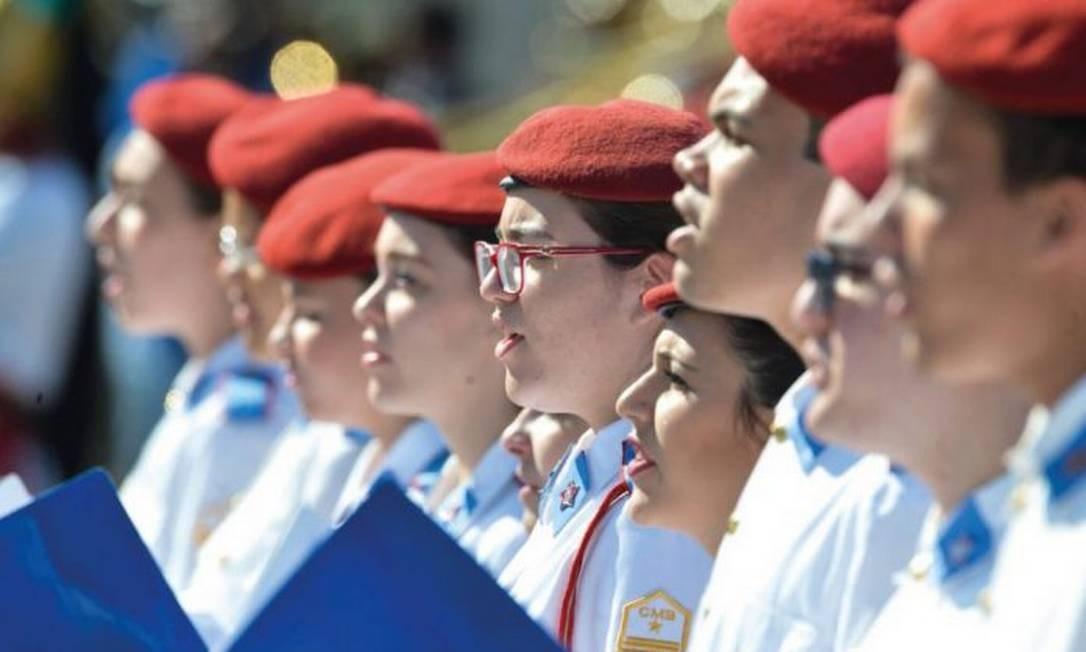 MEC está distribuindo manual para escola cívico-militares Foto: Fabio Rodrigues Pozzebom/Agência Brasil