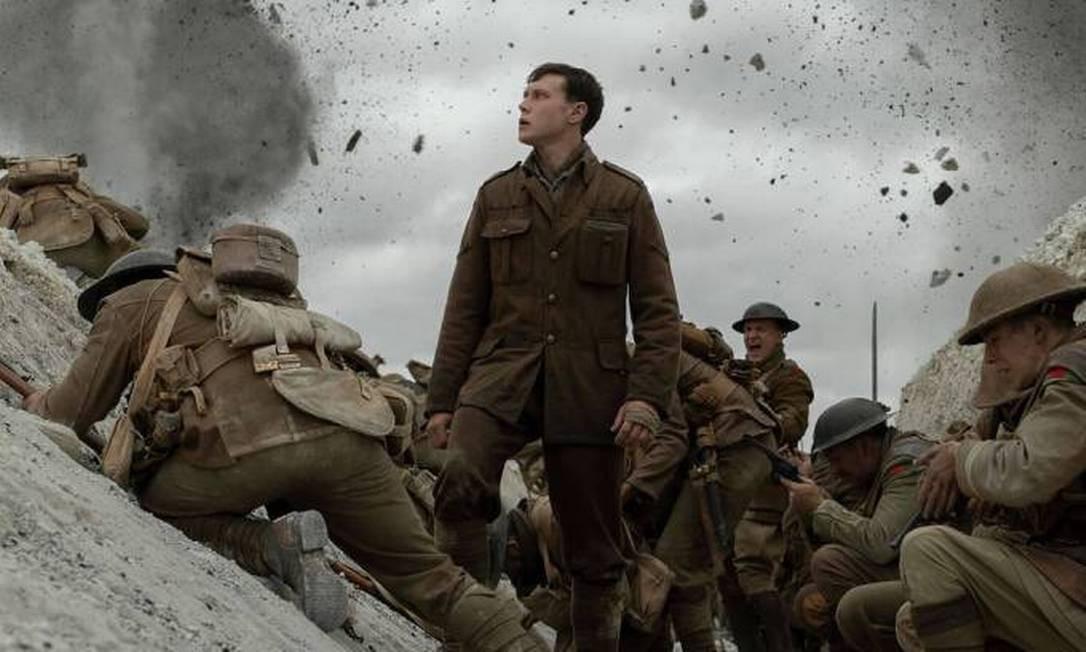 Cena do filme '1917', de Sam Mendes Foto: Divulgação/Universal Pictures