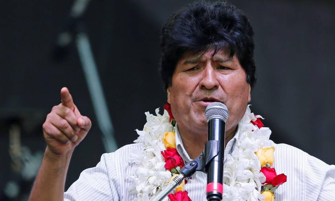 Evo Morales, que o grupo de 39 foi acusado de planejar assassinar Foto: Mariana Greif / REUTERS/22-1-2020