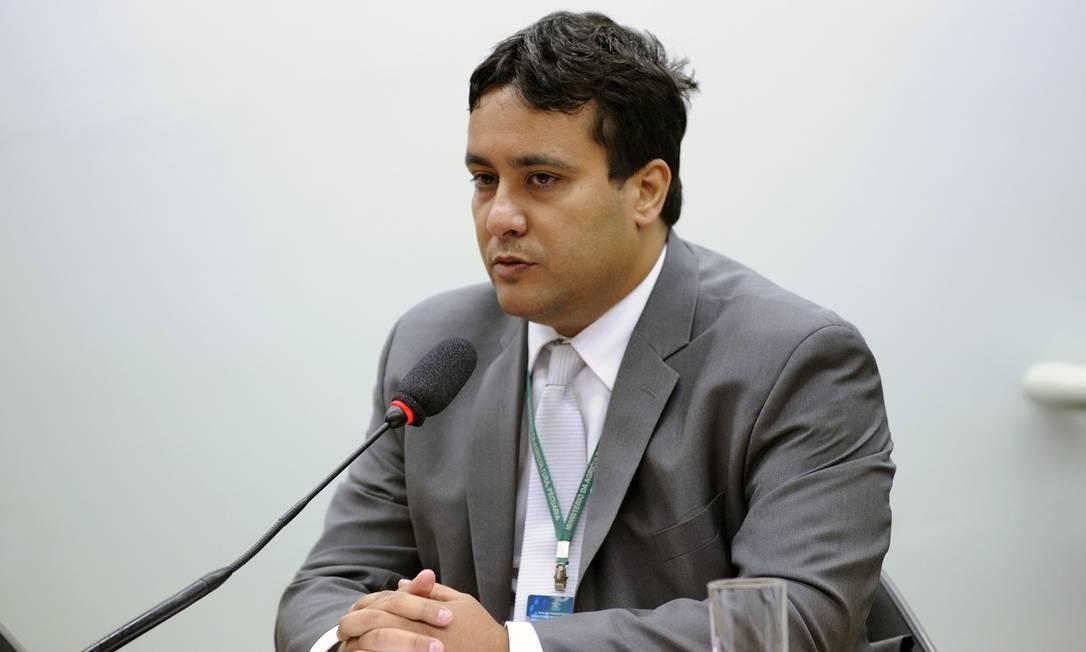 Carlos Ramos Venâncio durante audiência pública na Câmara dos Deputados. Foto: Lúcio Bernardo Jr./Câmara dos Deputados