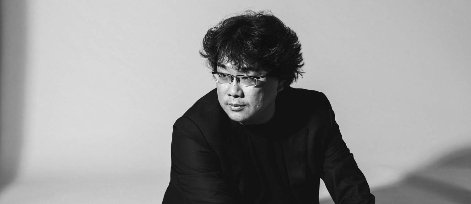 Bong Joon-ho, diretor de Parasita Foto: New York Times/PHILIP CHEUNG / NYT