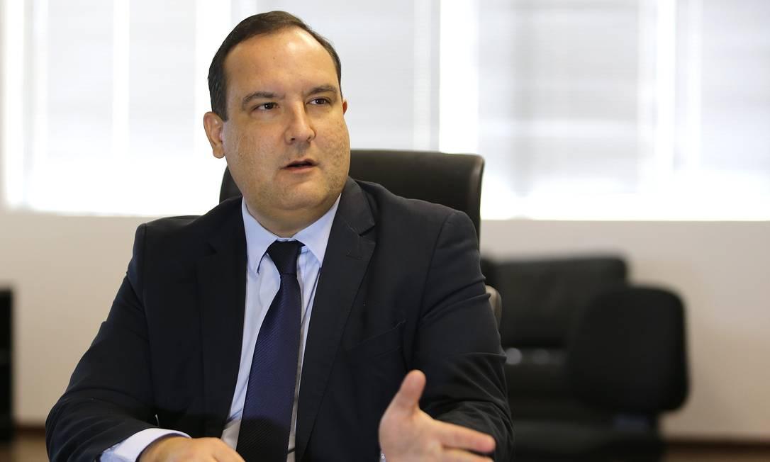 O presidente da Funai, Marcelo Augusto Xavier da Silva Foto: Jorge William / Agência O Globo