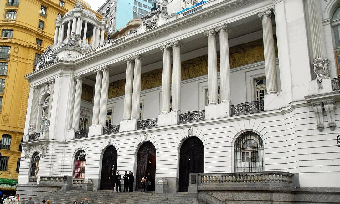 O Palácio Pedro Ernesto, onde está sediada a Câmara de Vereadores do Rio Foto: Agência O Globo