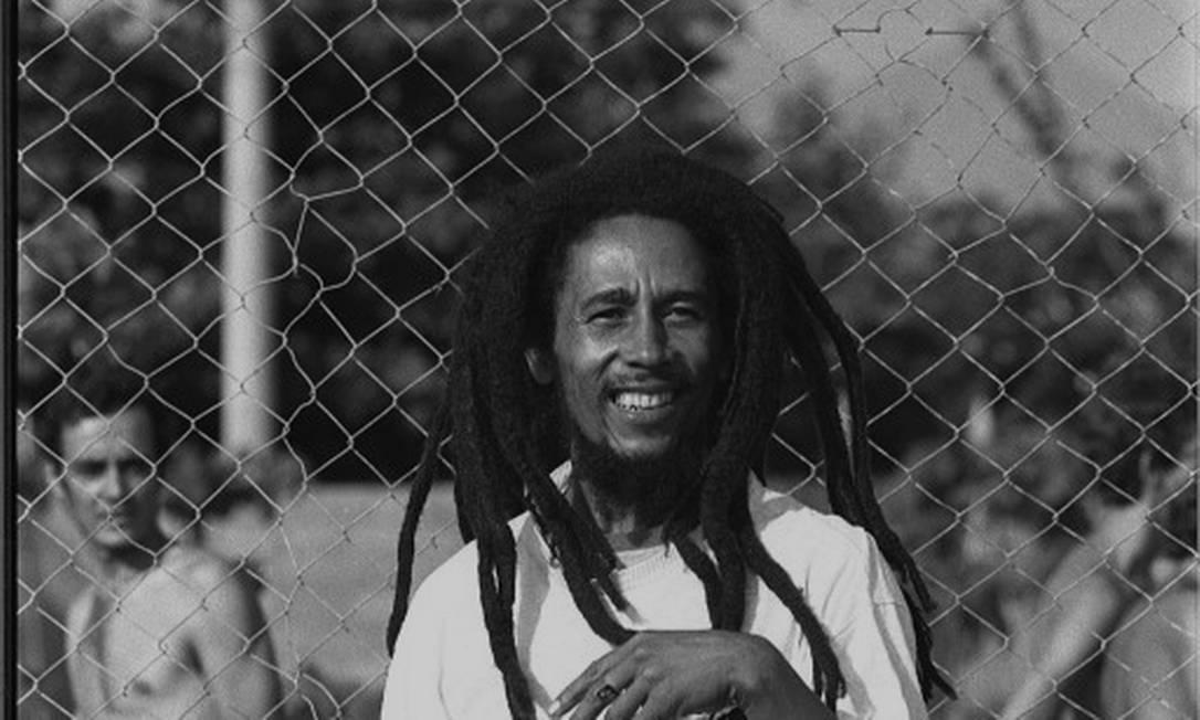 Bob Marley em sua passagem pelo Brasil em 1980 Foto: Luiz Pinto / Infoglobo