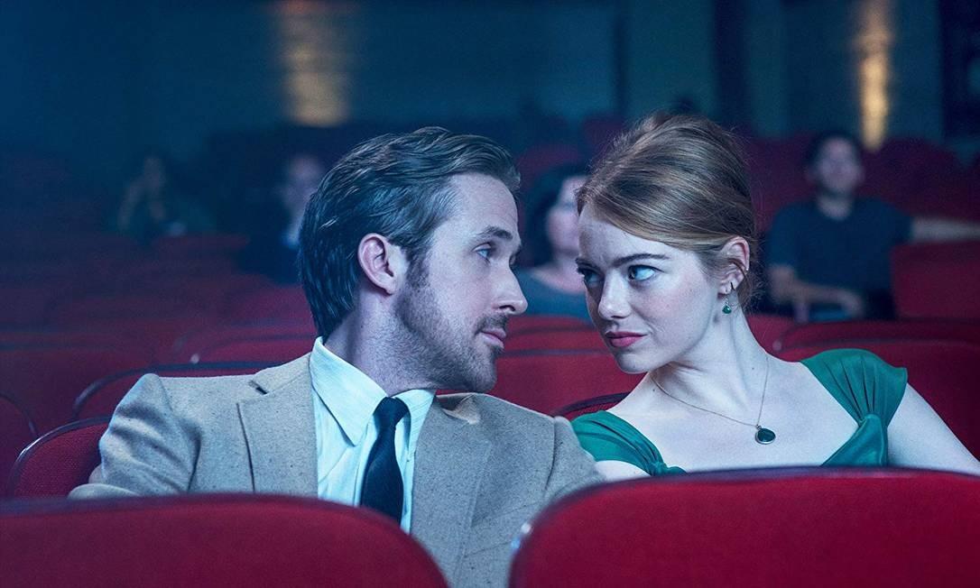"""""""La la land"""" (2016): O filme mais recente da lista teve 14 indicações e foi premiado em seis delas. Uma delas fez Damien Chazelle ser o diretor mais novo a vencer o prêmio de Melhor Diretor, com 32 anos. Foto: Divulgação"""