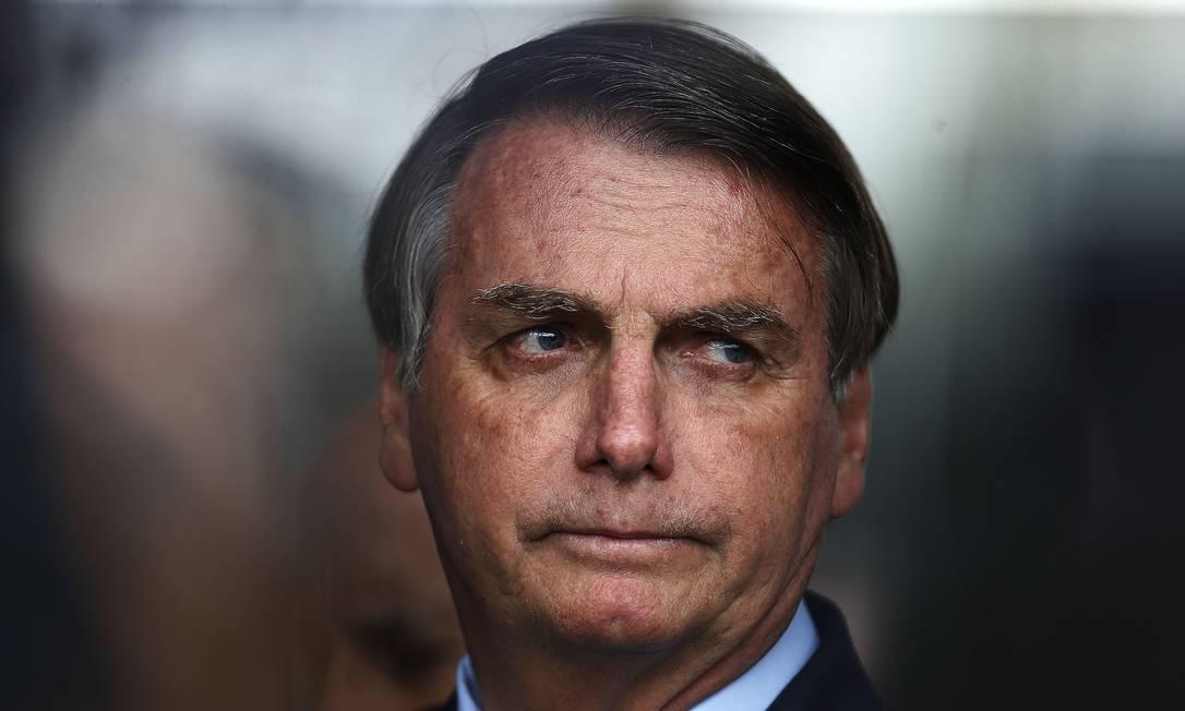 O presidente Jair Bolsonaro em 28/01/2020 Foto: Jorge William / Agência O Globo