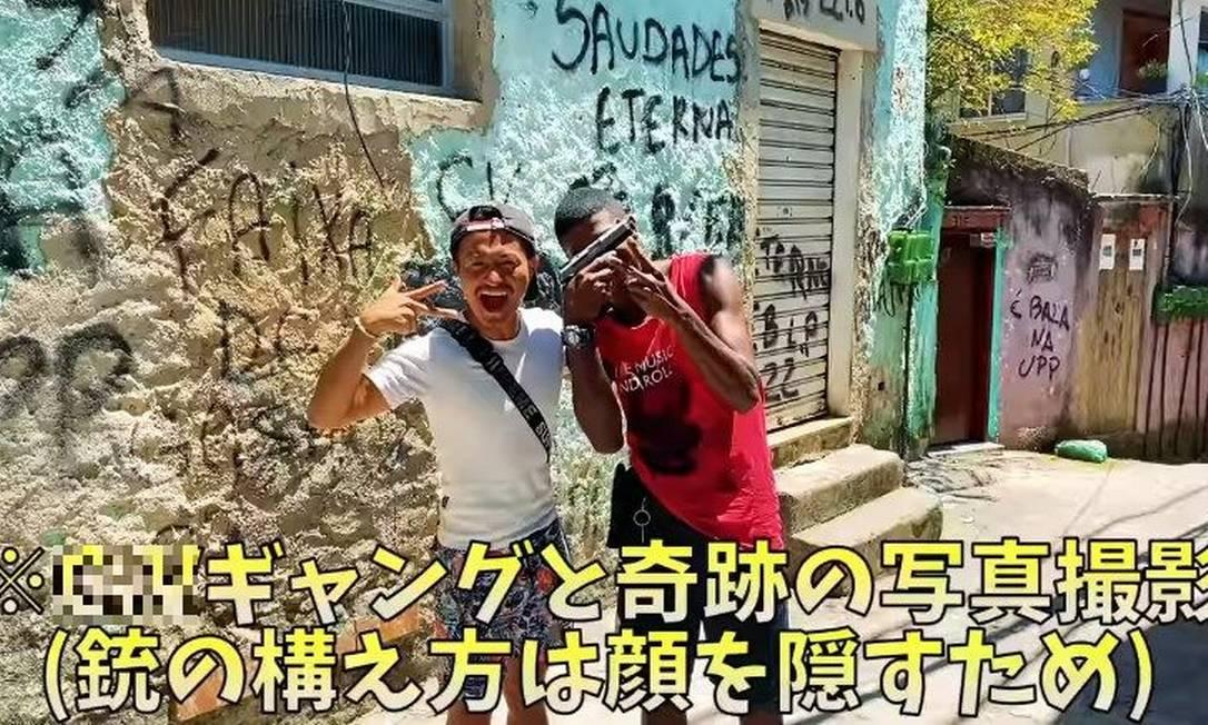 Ryosuke tem um canal sobre viagens no Youtube com 160 mil inscritos Foto: Reprodução/Youtube