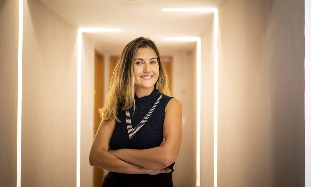 Carolina Lindner exalta vantagens da automação residencial Foto: Fabio Cordeiro/G.Lab