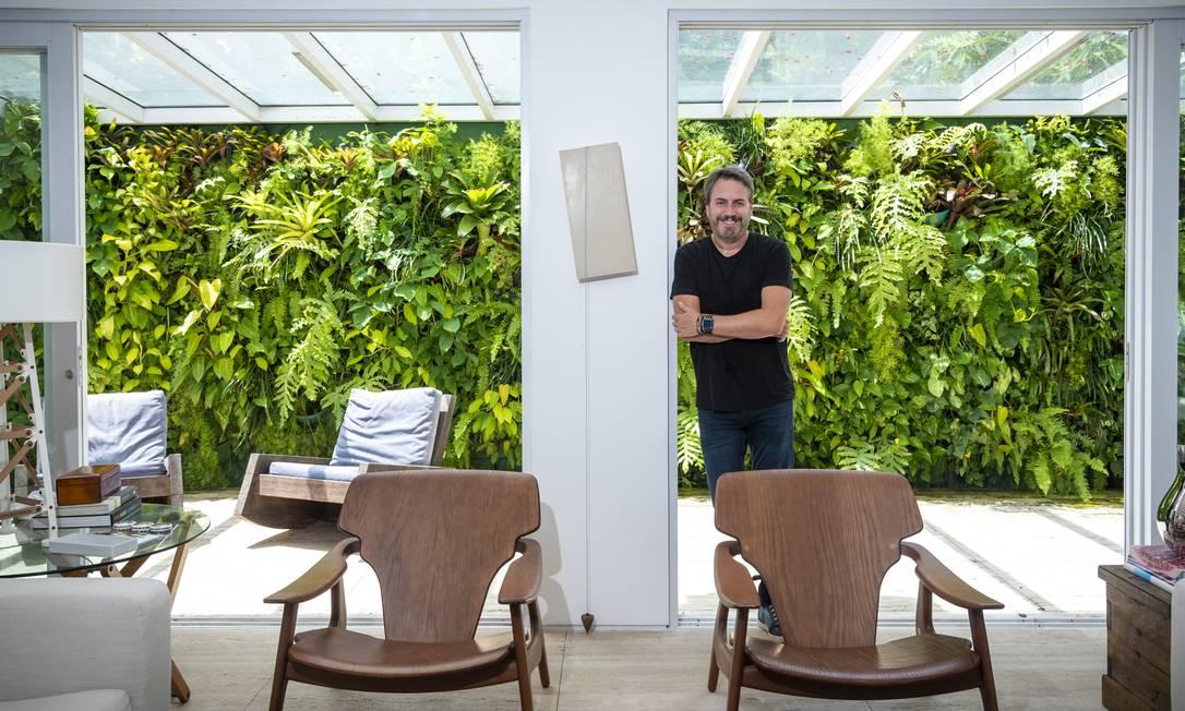 Sergio Caldas, Diretor de Planejamento e Arquitetura da construtora Concal, enfatiza a busca pela viabilidade dos investimentos Foto: Fabio Cordeiro/G.Lab