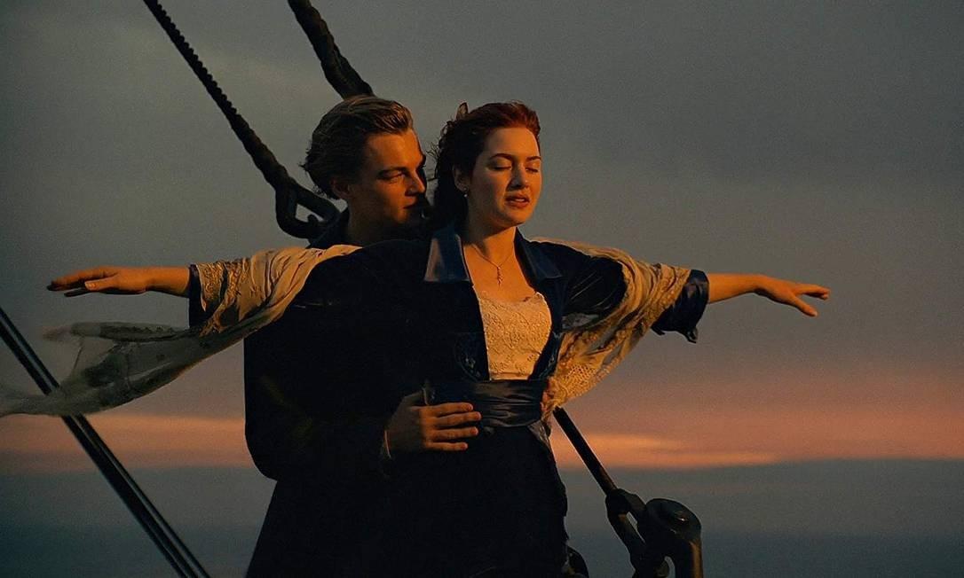 """""""Titanic"""" (1997): No quesito indicações e premiações, este é o grande campeão. Foram 11 estatuetas em 14 nomeações, incluindo Melhor Filme e Melhor Diretor. Foto: Divulgação"""