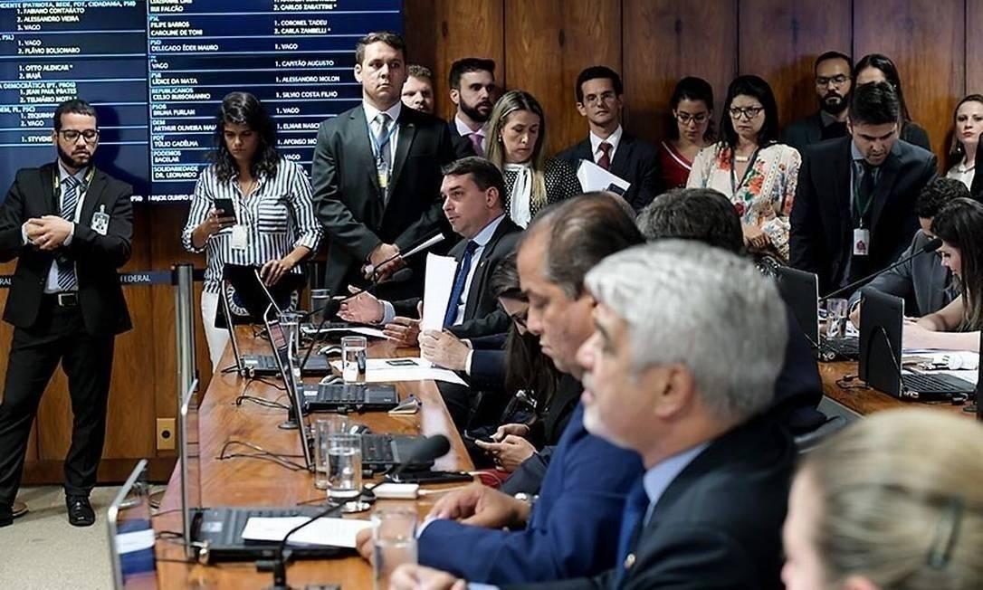 Comissão Parlamentar Mista de Inquérito (CPMI) sobre Fake News Foto: Agência Senado