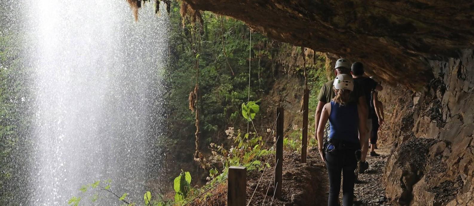 Turismo na Costa Rica cresce acima da média mundial Foto: Armando Del Vecchio / Agência O Globo