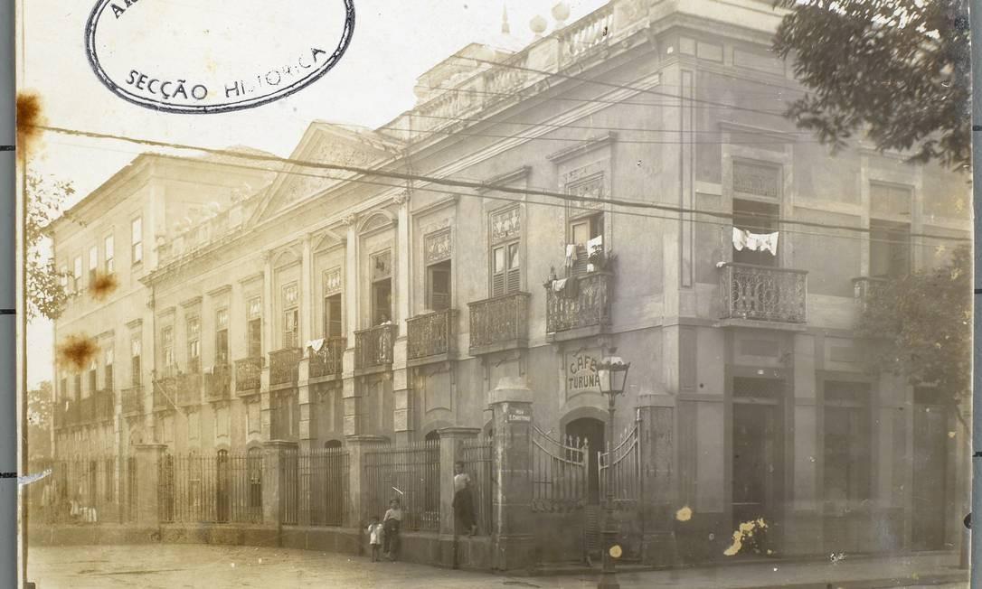 Imagem rara do Rio Foto: Arquivo Nacional