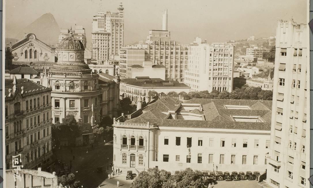 Área acentral do Rio, retratada em 1938 Foto: Arquivo Nacional