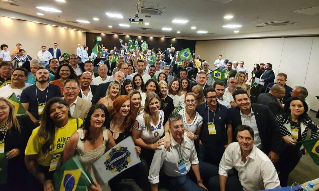 Aliança pelo Brasil reúne militantes em São Paulo Foto: Reprodução