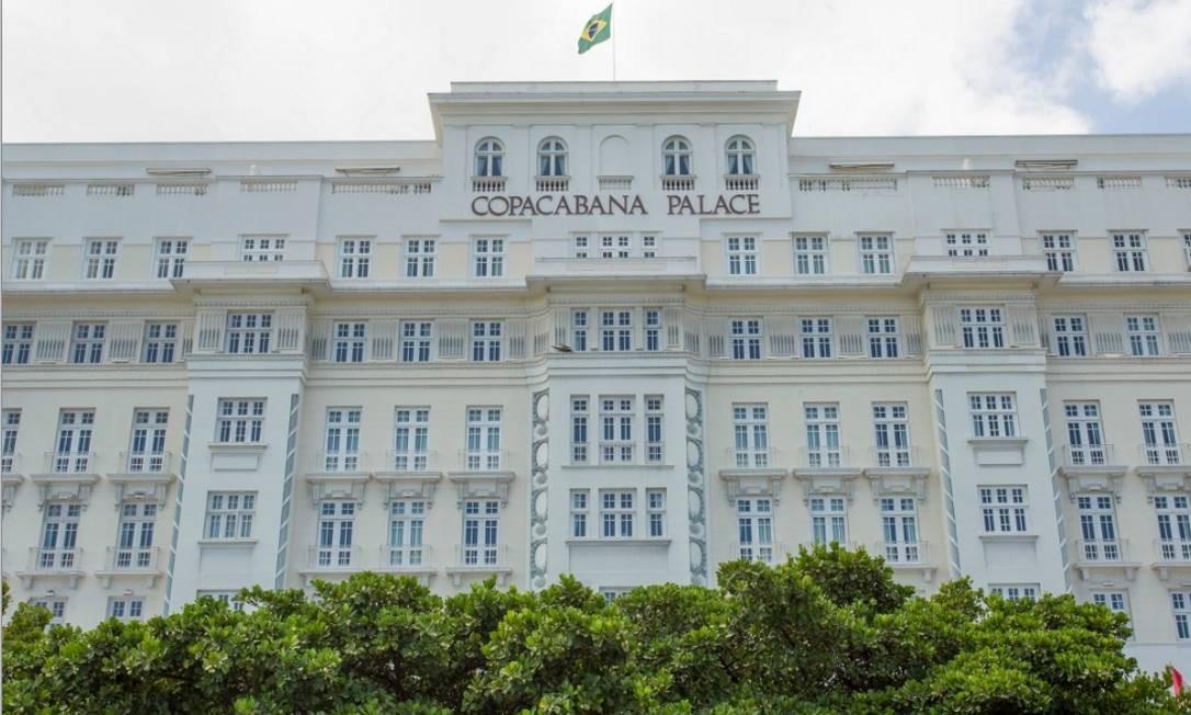 O Belmond Copacabana Palace, na Av. Atlântica, abriu suas portas em 1923 e continua a ser um dos mais importantes estabelecimentos hoteleiros da cidade e do Brasil, com duzentos e trinta e nove (apartamentos e suítes), divididos entre o prédio principal e anexo, em uma área de onze mil metros quadrados. Foto: Gabriel de Paiva/ Agência O Globo