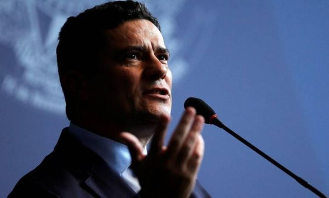 O ministro da Justiça, Sergio Moro Foto: Reuters