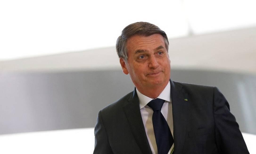 Bolsonaro questiona o moivo pelo qual o presidente americano é tão criticado pela imprensa dos Estados Unidos Foto: Arquivo