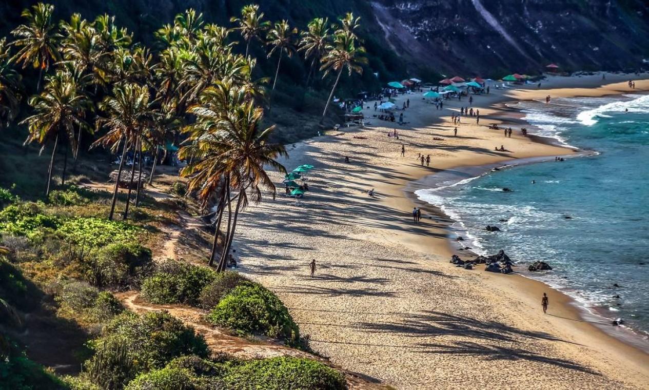 Praia do Amor, um dos pontos mais bonitos do vilarejo de Pipa Foto: Canindé Soares / Ministério do Turismo / Divulgação