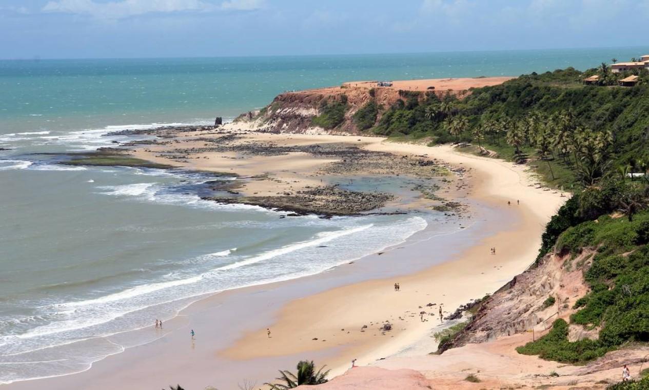 Em Tibau do Sul, as praias de Pipa estão entre as mais bonitas não só do Nordeste, mas do Brasil Foto: Humberto Sales / Ministério do Turismo / Divulgação