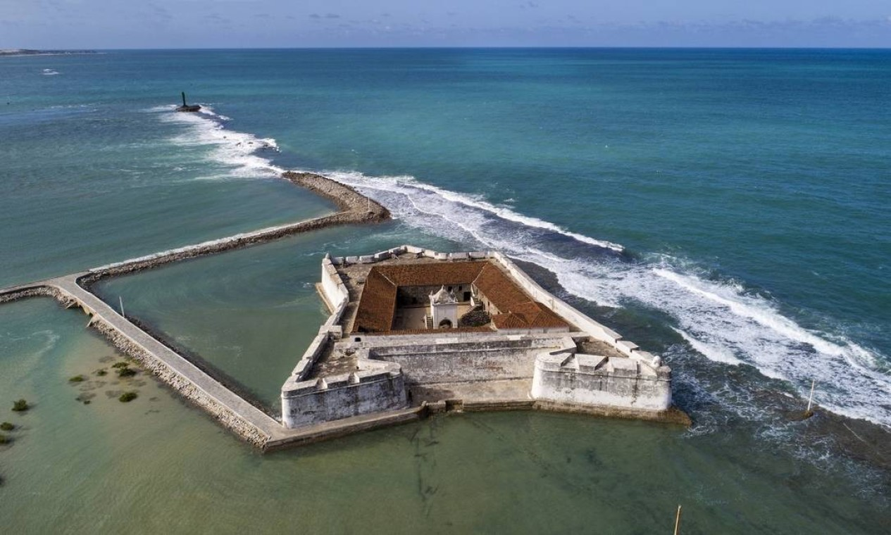 Forte dos Reis Magos, importante marco histórico brasileiro, é outra atração imperdível em Natal Foto: Secretaria de Turismo do Rio Grande do Norte / Divulgação