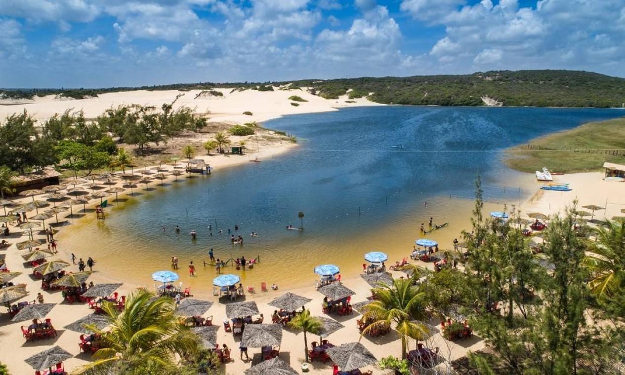 A Lagoa de Pitangui é outro popular destino perto nos arredores de Natal Foto: Secretaria de Turismo do Rio Grande do Norte / Divulgação