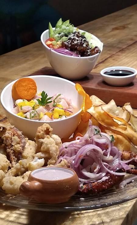 Pipa é reconhecida também por sua rica cena gastronômica, com restaurantes de diversas especialidades, como a cevicheria Kausai Foto: Secretaria de Turismo do Rio Grande do Norte / Divulgação